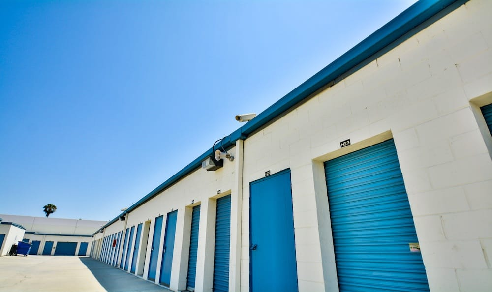 Security Cameras at our storage facility in Santa Fe Springs