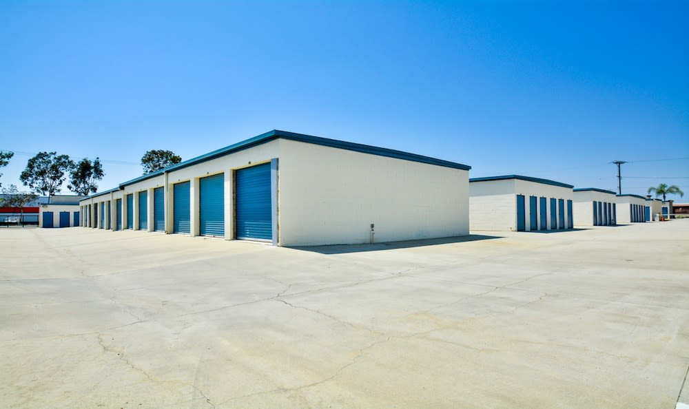 Storage buildings at our facility in Santa Fe Springs