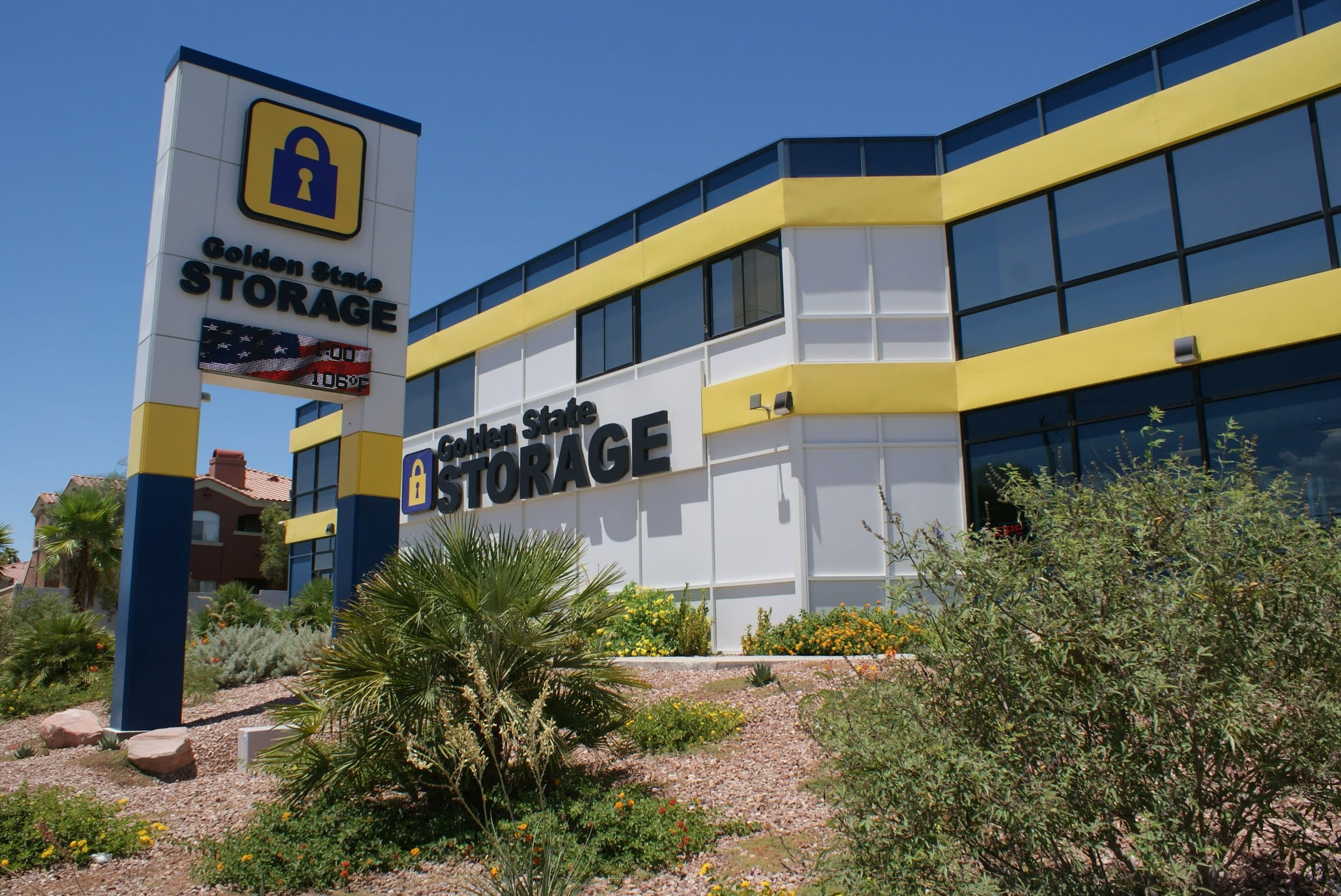 self storage building exterior