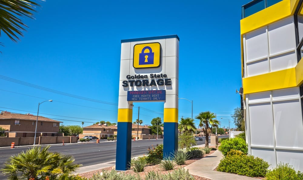 Golden State Storage on Tropicana Avenue in Las Vegas