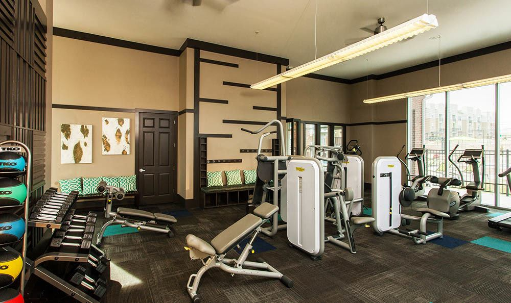 Fitness Center At Harvest Station Apartments In Broomfield CO