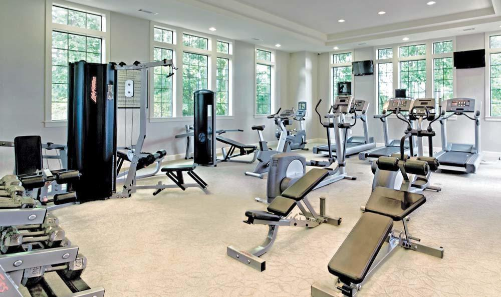 Fitness Center at The Residences at Vinings Mountain in Atlanta