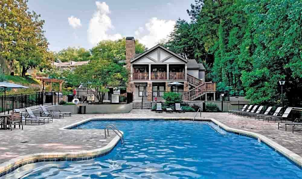 Pool at The Residences at Vinings Mountain in Atlanta