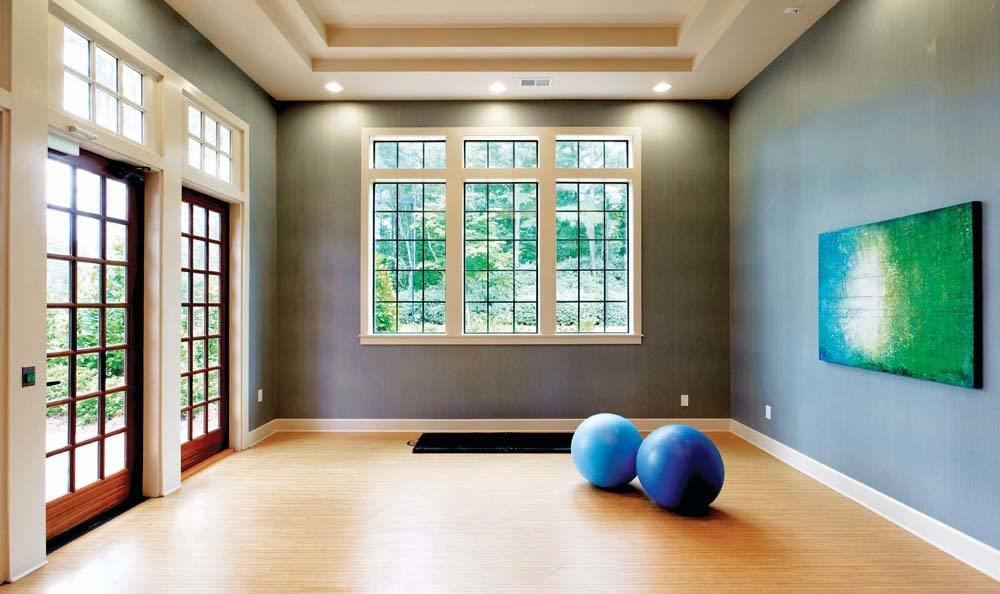 Yoga and Meditation Room at The Residences at Vinings Mountain in Atlanta