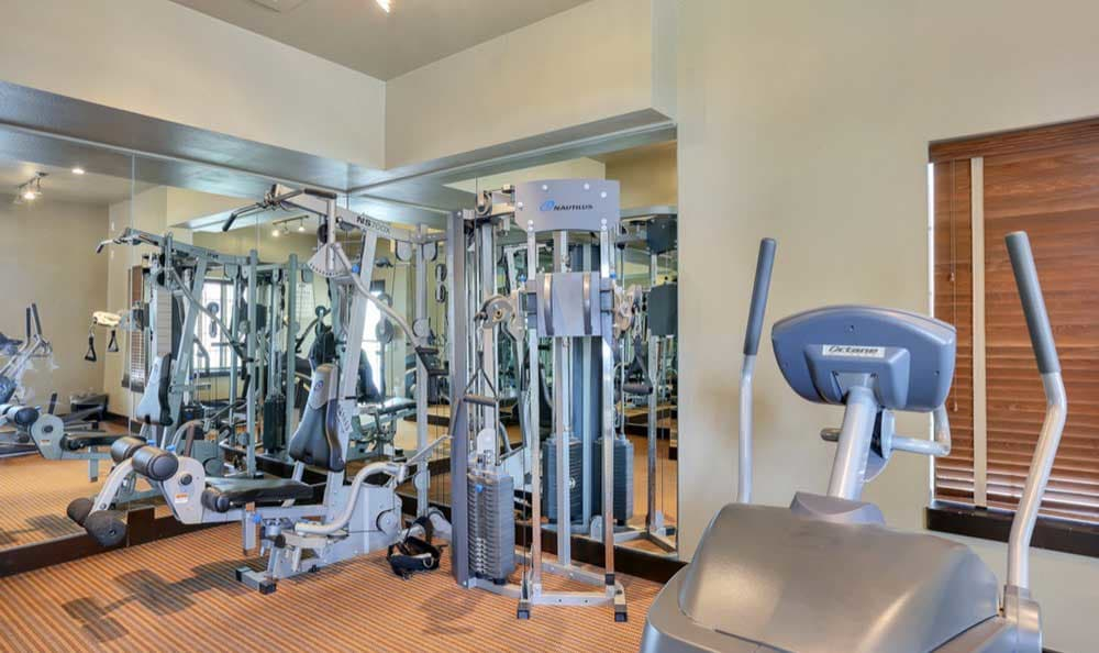 Fitness center at Sienna at Cherry Creek