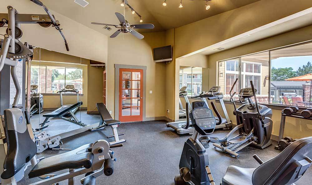 Stay fit at the fitness center at Covington Ridge