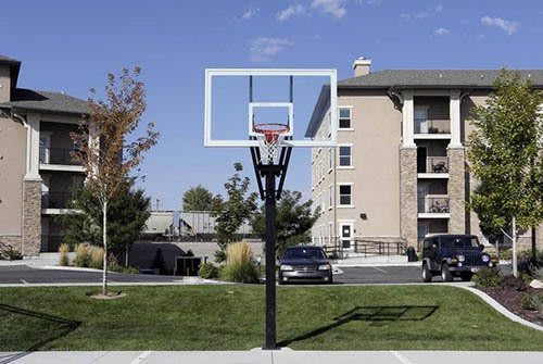 Basketball court available for use at Meadowbrook Station Apartments