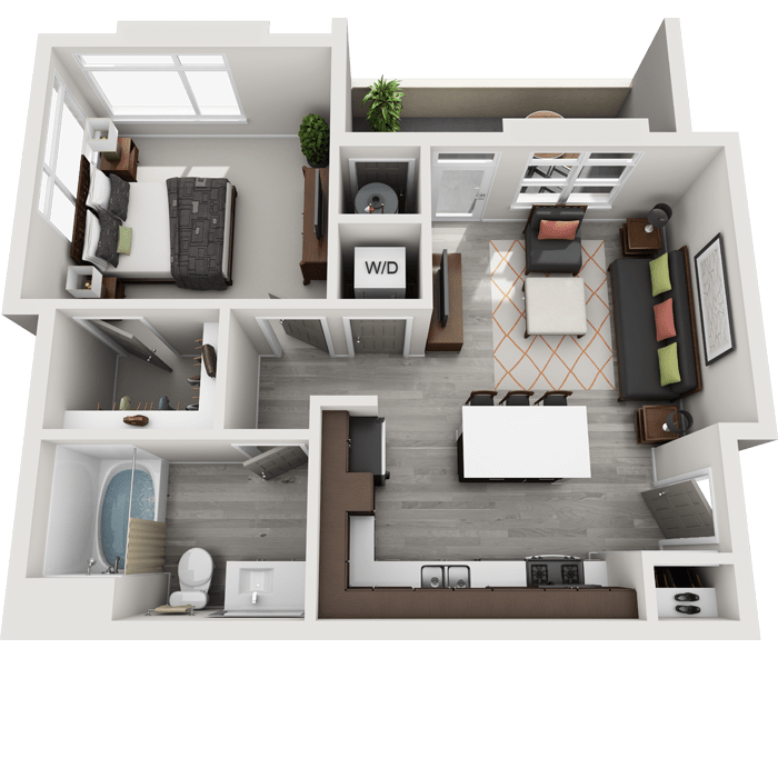 Luxury 1, 2 & 3 Bedroom Apartments in Highlands Ranch, CO on house with a great room floor plans, house with garage apartment floor plans, house with open concept floor plans,