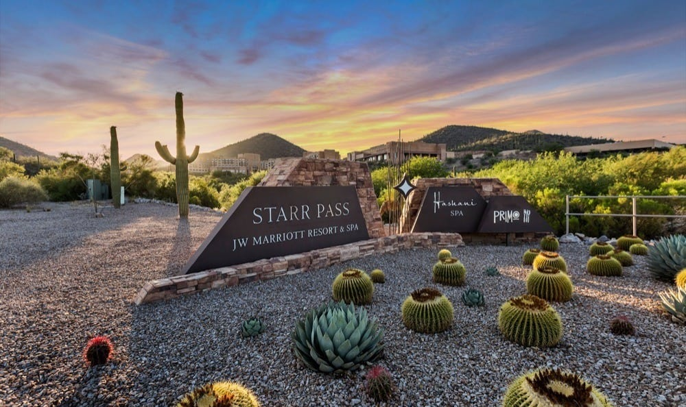 Monument signage for Starrview at Starr Pass