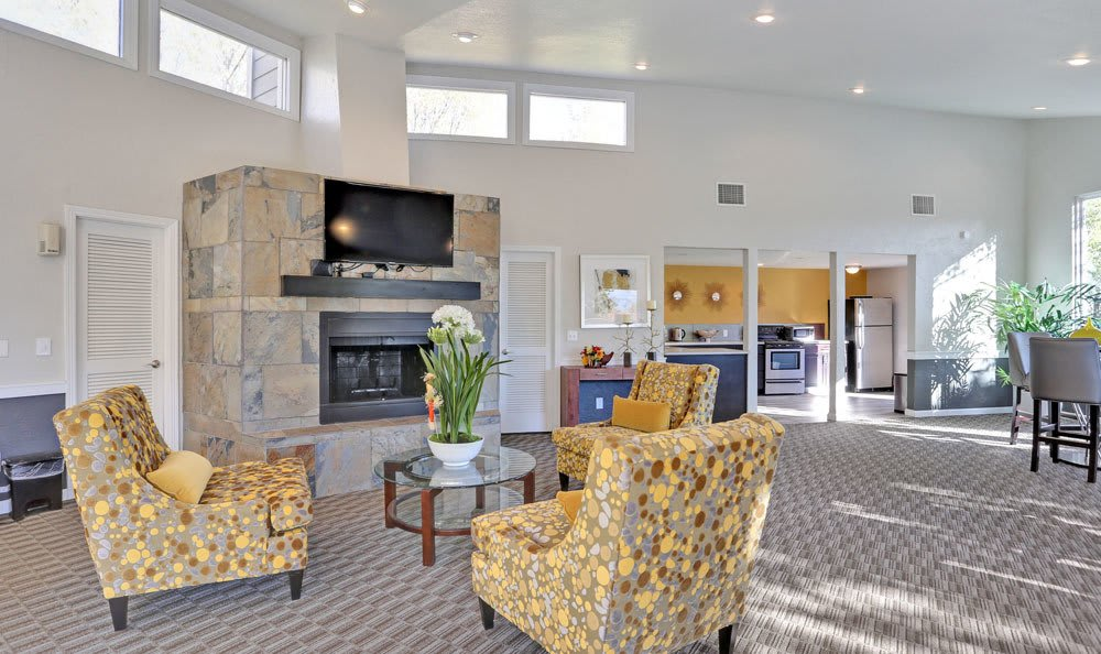 Clubhouse at The Knolls at Sweetgrass Apartment Homes in Colorado Springs, Colorado
