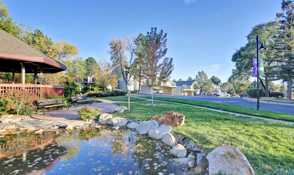 Lake At The Knolls at Sweetgrass Apartment Homes In Colorado Springs CO