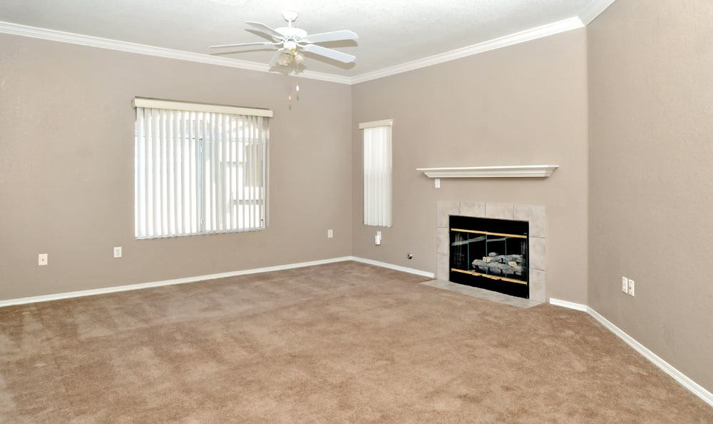 Spacious living room at apartments in Rio Rancho, New Mexico