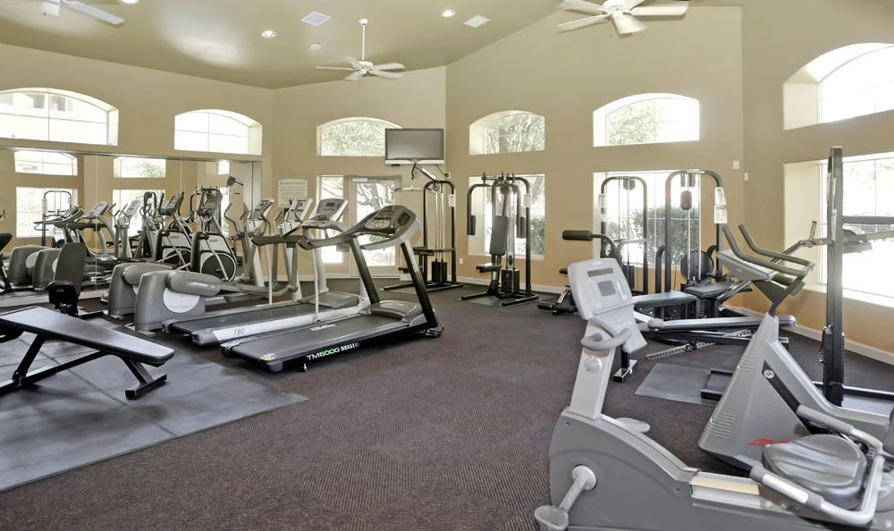 Modern Fitness Center At The Links at High Resort In Rio Rancho NM