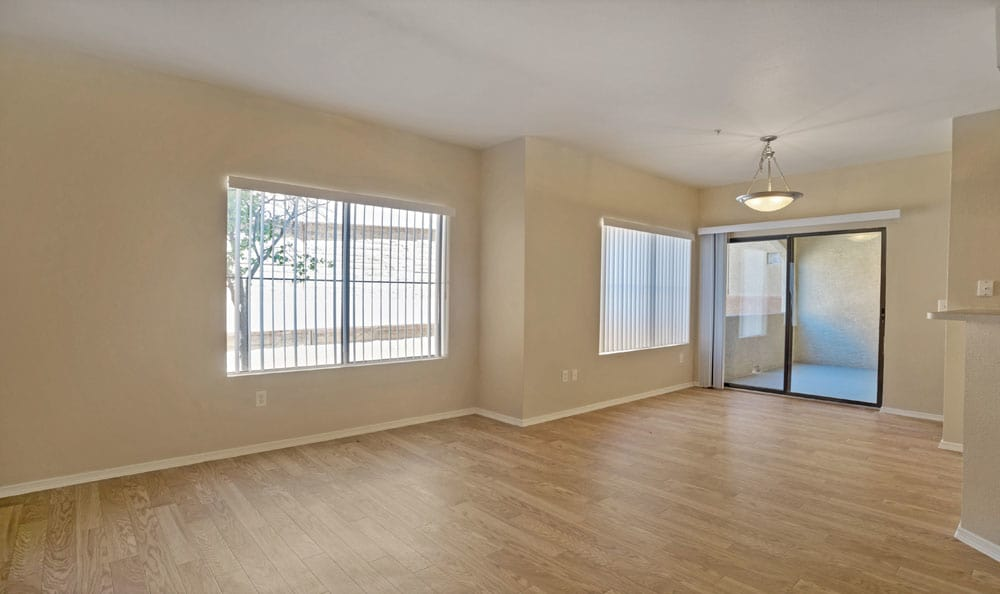 Our apartments in Albuquerque, New Mexico showcase a spacious living room