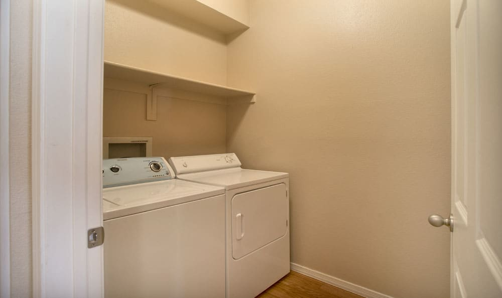 Enjoy apartments with a laundry facility at Ventana Canyon Apartments