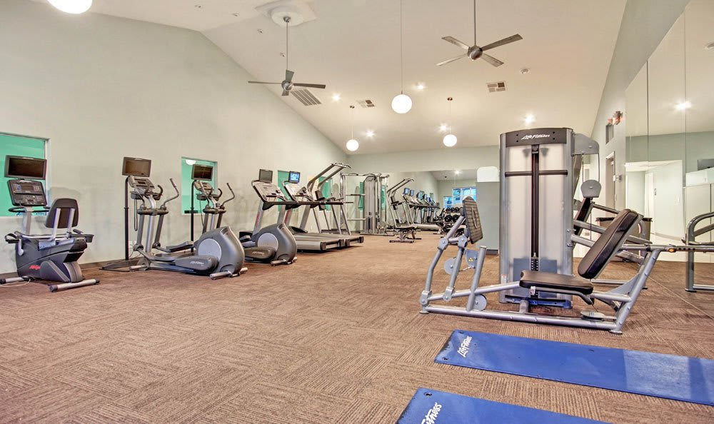 Moderm Fitness Center At Village at Desert Lakes in Nevada