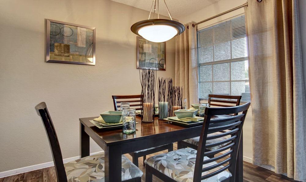 Beautiful Dining room at apartments in Las Vegas, Nevada