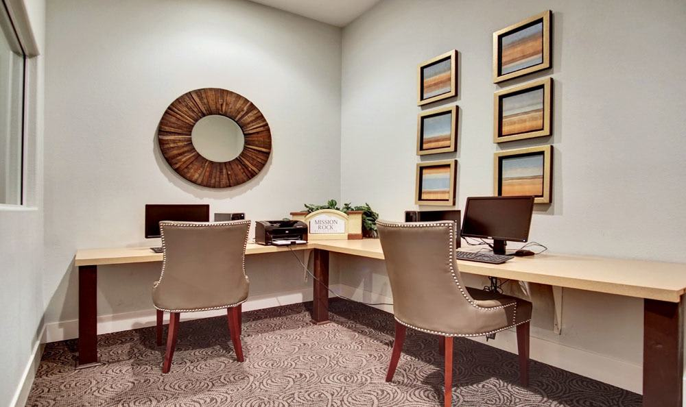 Business center at Village at Desert Lakes in Nevada