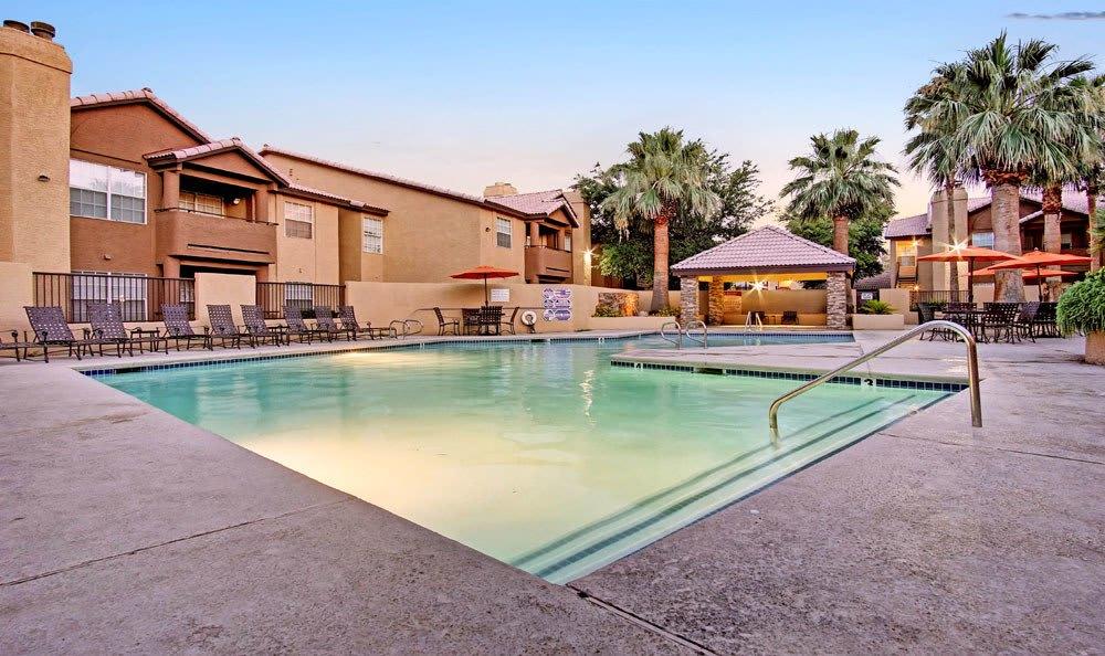 Swimming pool at Village at Desert Lakes in Nevada