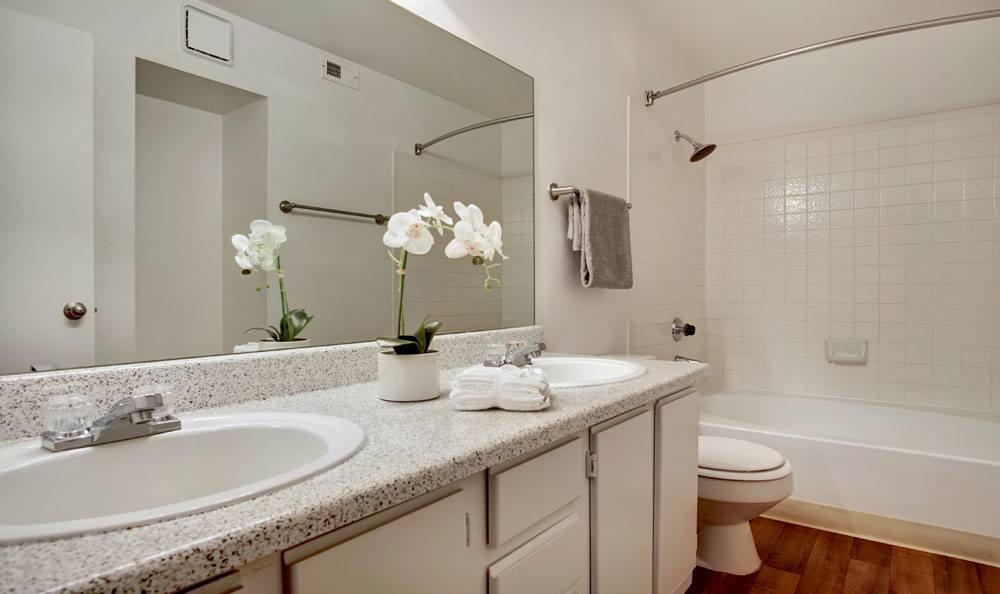 Village at Desert Lakes offers a beautiful bathroom in Las Vegas, Nevada