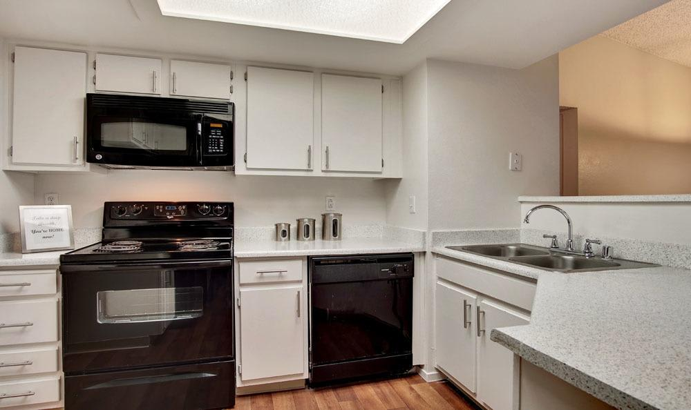 Village at Desert Lakes offers a kitchen in Las Vegas, Nevada