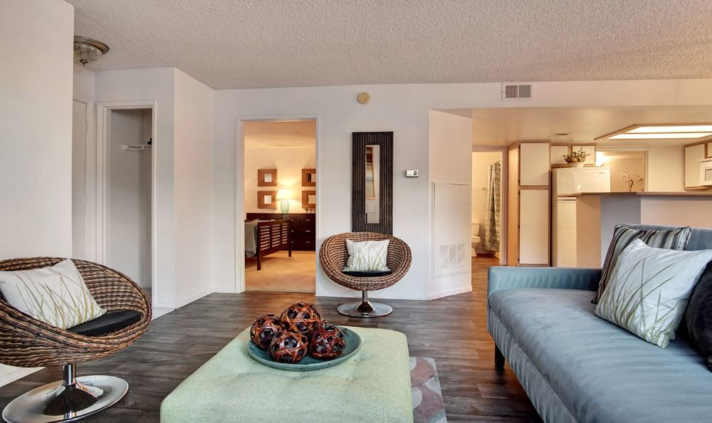 Village at Desert Lakes offers a beautiful living room in Nevada