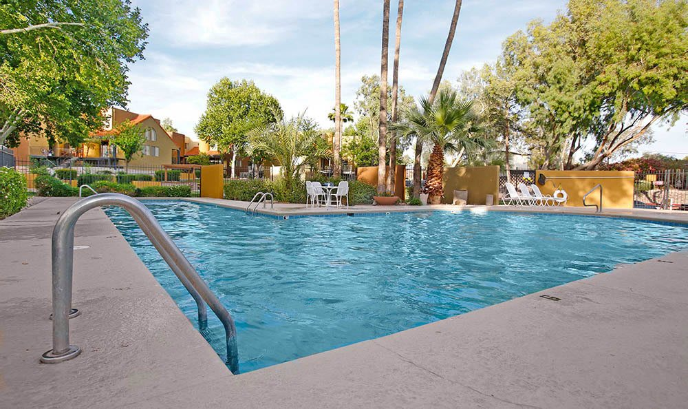 Swimming pool at Arches at Oracle Apartments in Tucson, AZ