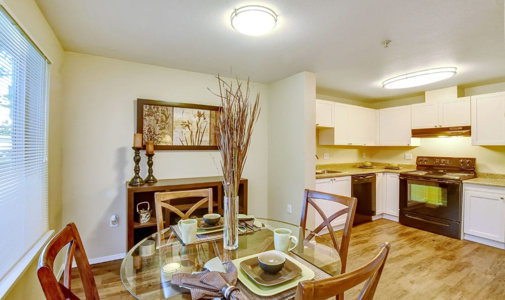 Beautiful Dinning Room At Brittany Lane Apartments In Lacey WA