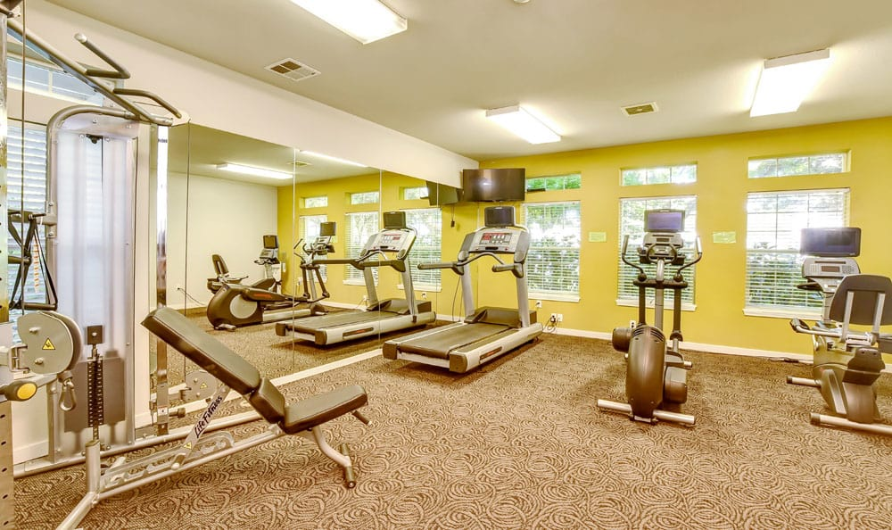 Fitness Center At Brittany Lane Apartments In Lacey WA