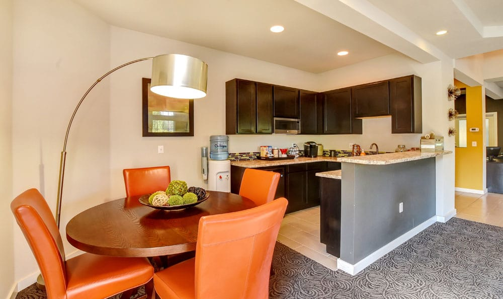 Dinning room At Brittany Lane Apartments In Lacey WA