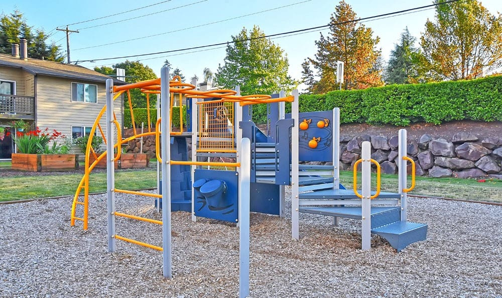 Playground area at the apartments in Everett