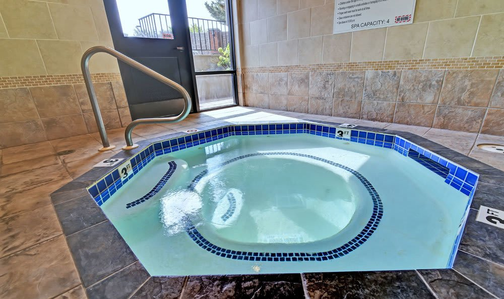 Spa inside At Fox Creek Apartments In Layton UT