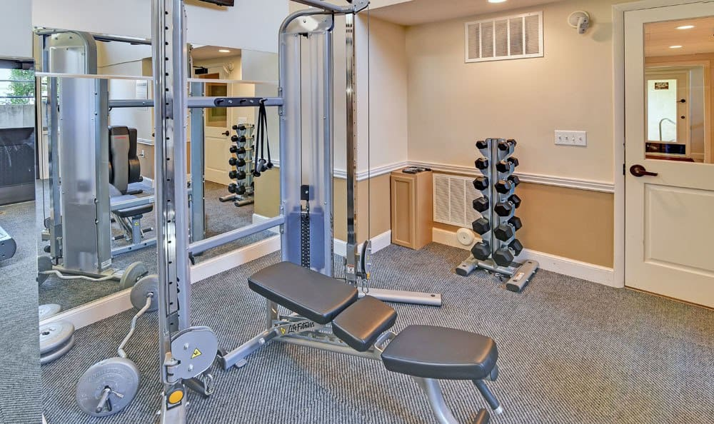 Fitness Center At Fox Creek Apartments In Layton UT