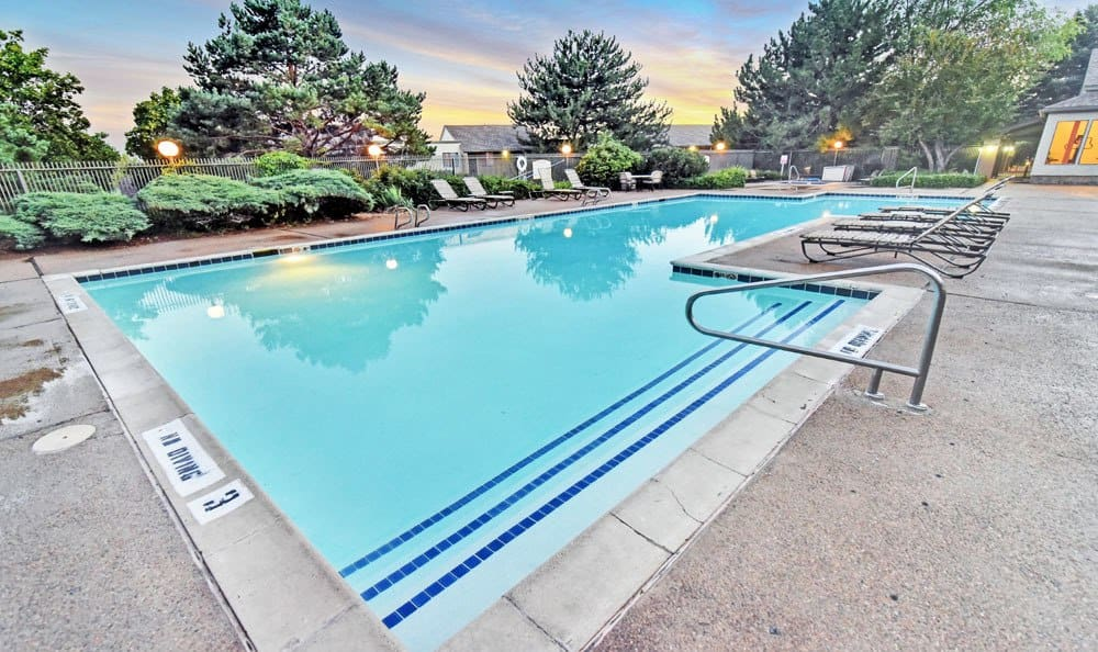 Swimming Pool At Overlook at Sunset Point In Layton UT