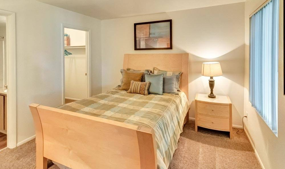 Bedroom at Seasons at Pebble Creek in Salt Lake City, Utah