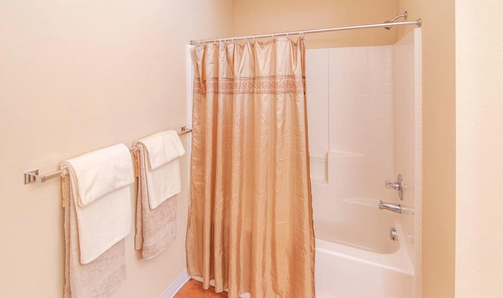 Bathroom at Selway Apartments in Meridian, Idaho