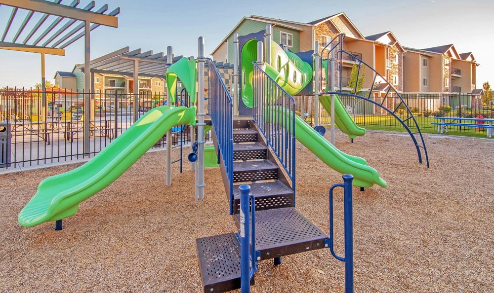 Playground at apartments in Meridian, Idaho