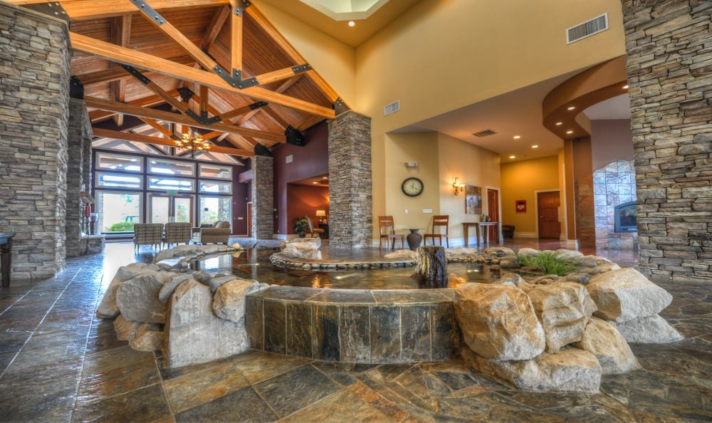 Club House Lobby At Sierra Sun In Puyallup WA