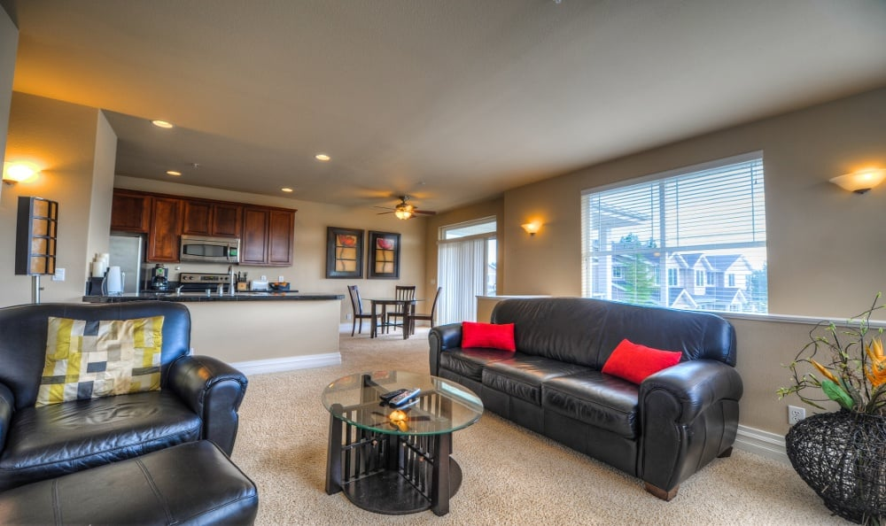 Living Room At Sierra Sun In Puyallup WA