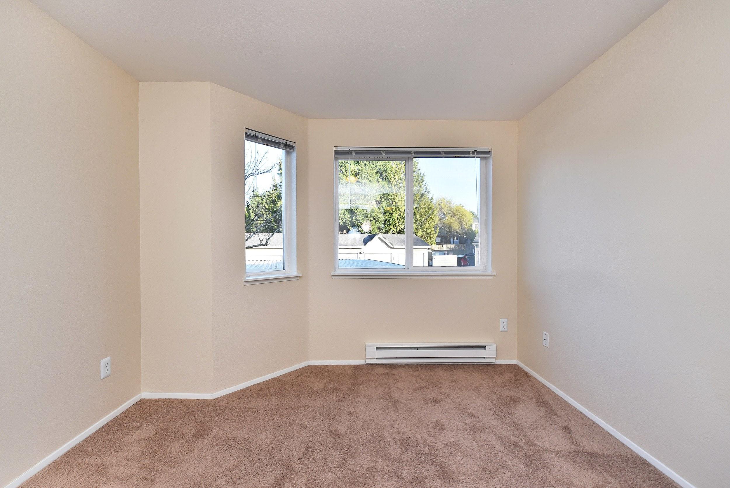 Spacious bedroom at Preserve at Sunnyside Apartments in Clackamas, Oregon