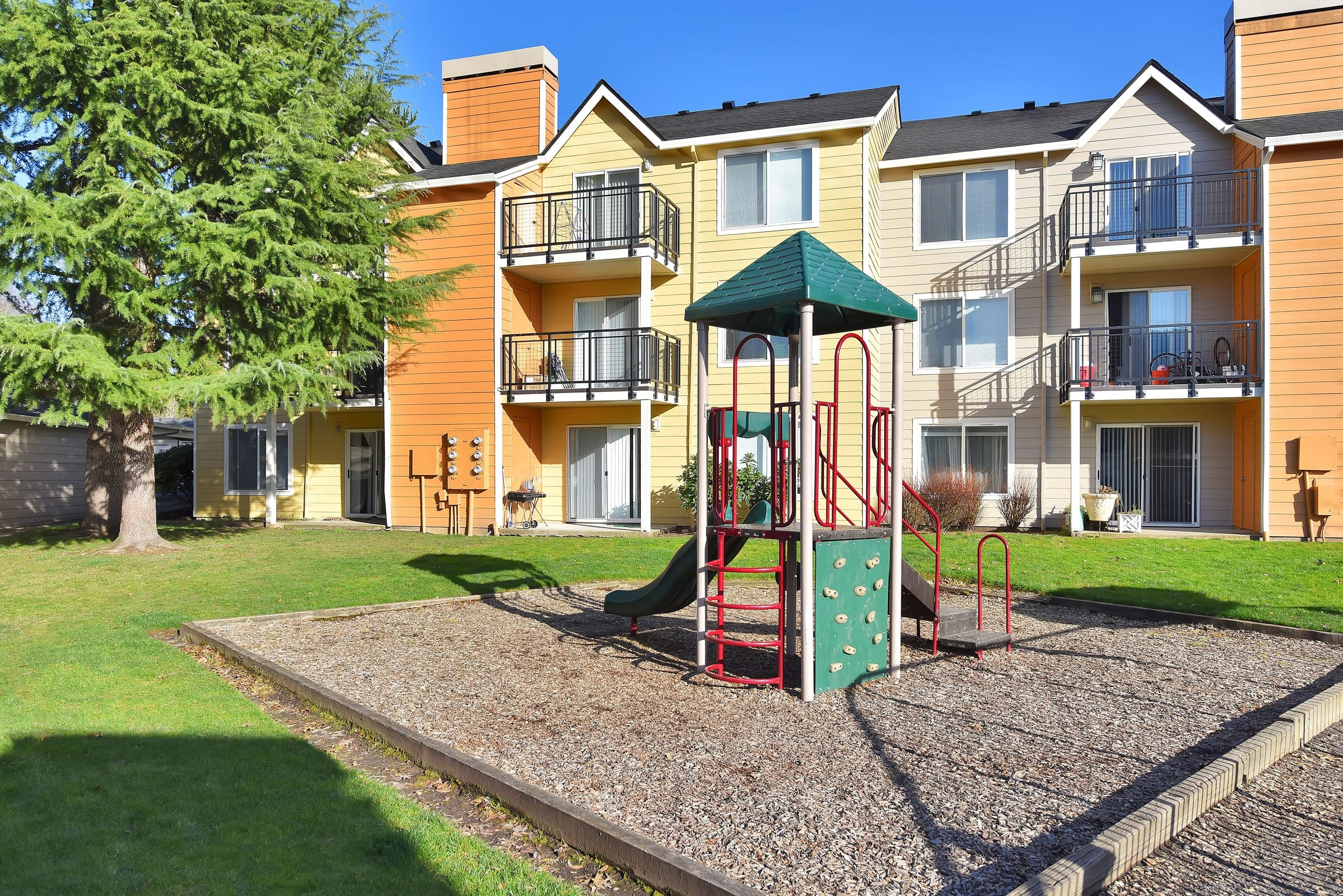 Playground At Preserve at Sunnyside Apartments In Clackamas OR
