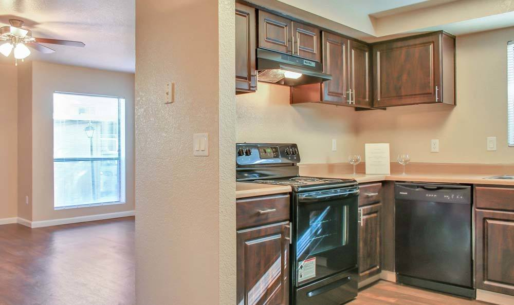 Kitchen at The Lodge at McCarran Ranch Apartment Homes in Reno, Nevada
