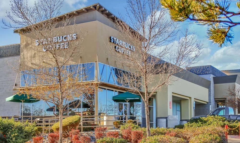 Starbucks coffee at The Lodge at McCarran Ranch Apartment Homes in Reno, NV