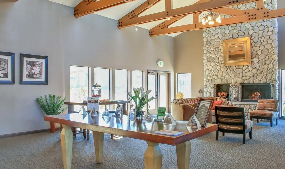 Clubhouse at The Lodge at McCarran Ranch Apartment Homes in Reno NV