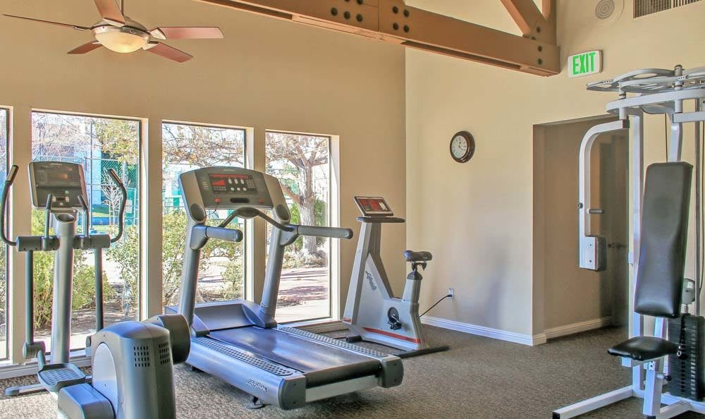 Fitness Center At The Lodge at McCarran Ranch Apartment Homes In Reno NV