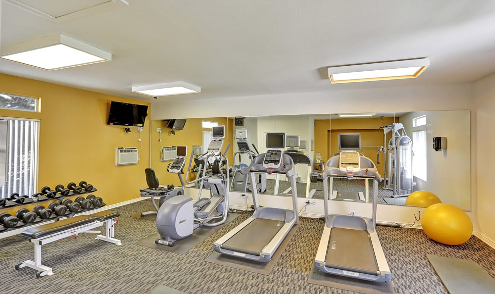 Fitness Center At The Pavilions at Silver Sage In Fort Collins CO
