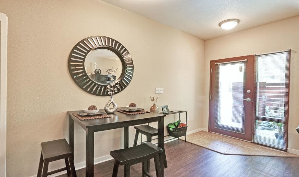 Dinning Area at Downtown Belmar Apartments in Lakewood, Colorado