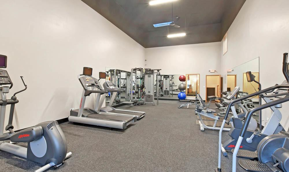 Fitness Center At The Park at Cooper Point Apartments In Olympia WA