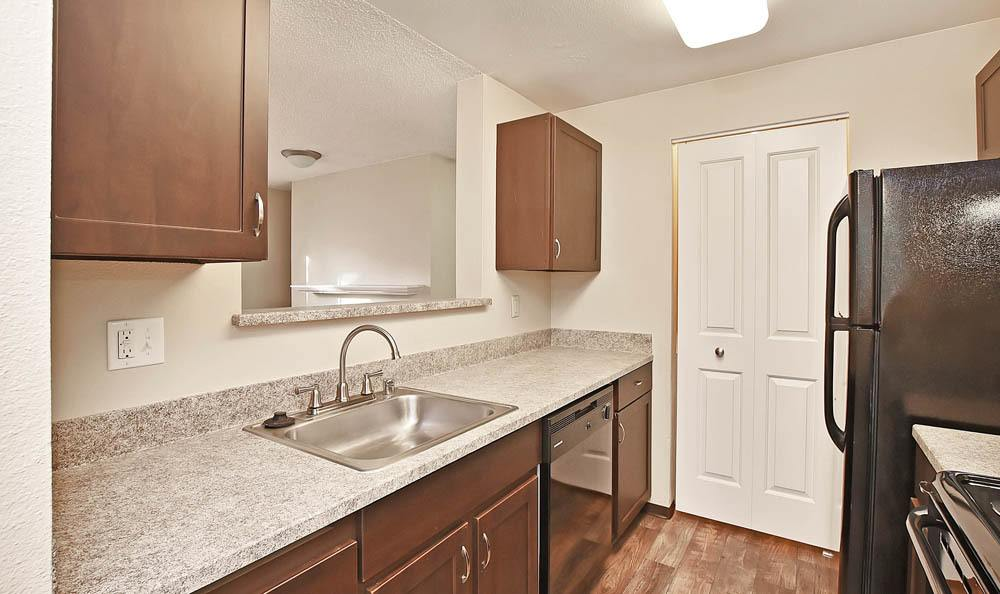 Kitchen at The Park at Cooper Point Apartments