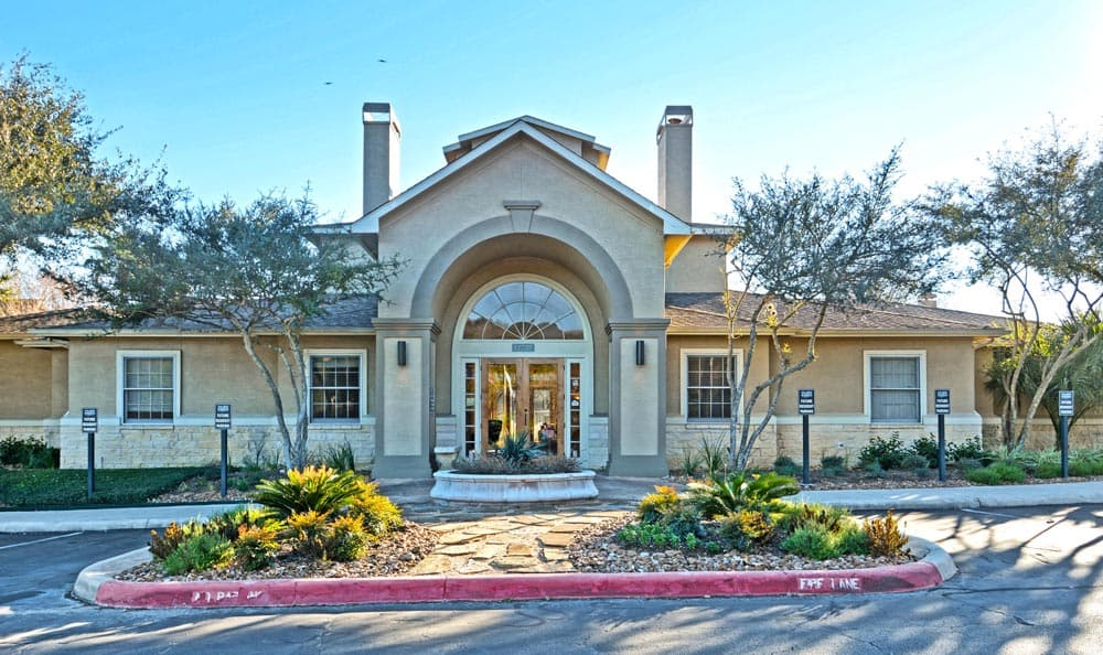 Leasing office at Salado Springs Apartments In San Antonio TX